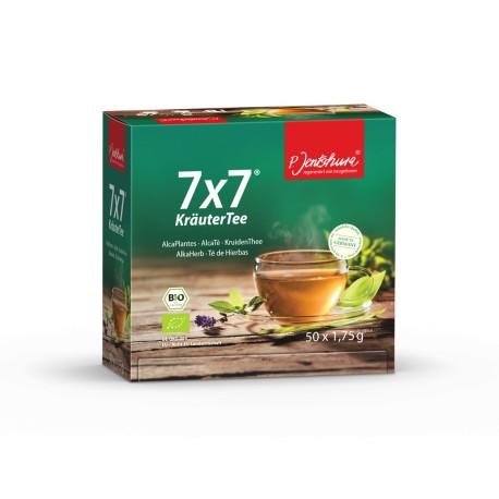 7x7® KräuterTee 50er Teefilterbeutel