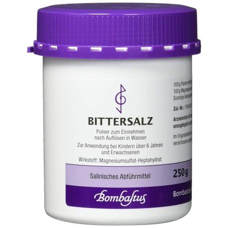 Bittersalz zur Darmsäuberung