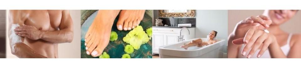 Baden, Duschen und Pflegen