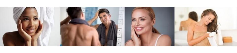 Gesicht und Haarpflege