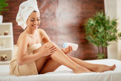 wohltuende Körperpflege