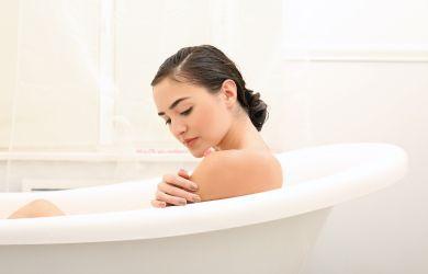 Badevergnügen mit basischer Seife