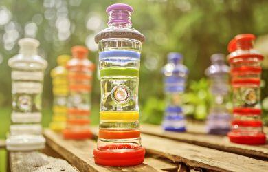 Trinkflasche energetisches Wasser